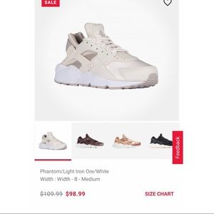 NWT unopened pair Nike Huaraches